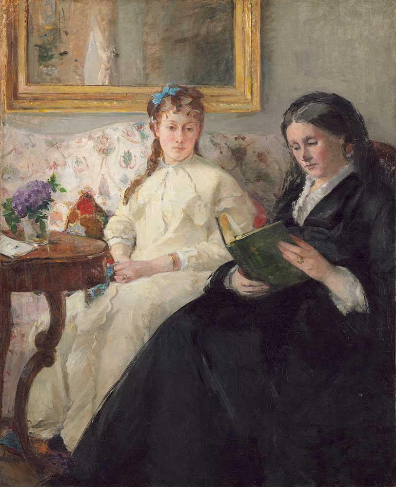 Berthe Morisot Sanatçının Annesi ve Kızkardeşi