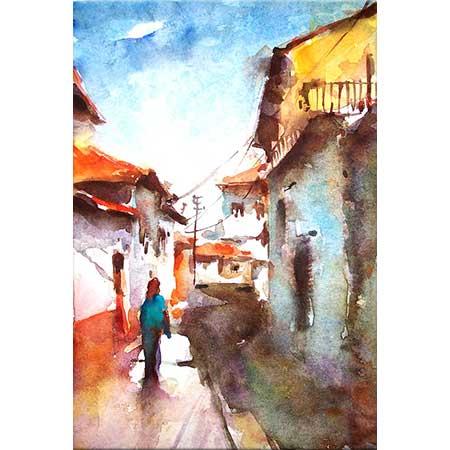 Burhan Özer Eski Sokaklar
