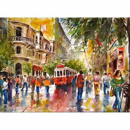 Burhan Özer İstiklal Caddesi