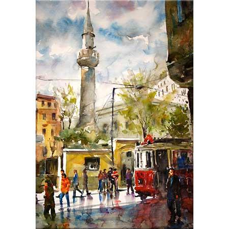 Burhan Özer İstiklal Caddesi Ayazağa Camii