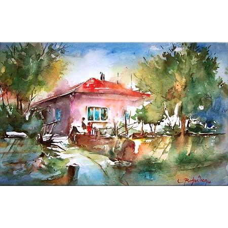 Burhan Özer Kırmızı Çatılı Ev