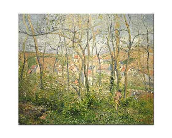 Camille Pissarro Ağaçlar Arasında