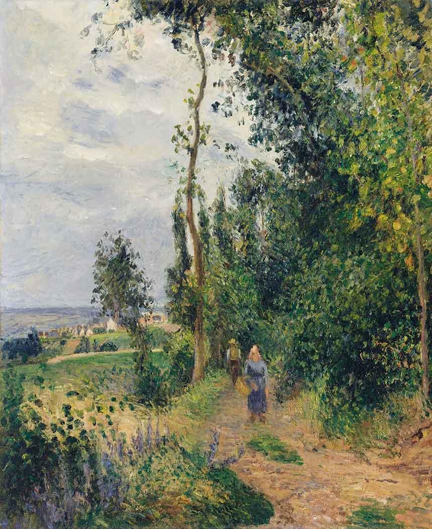 Camille Pissarro Ağaçlı Yol