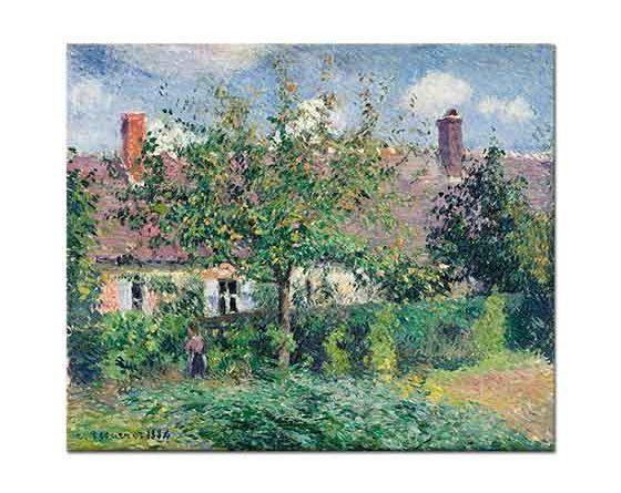 Camille Pissarro Bahçedeki Ağaç