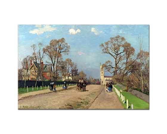 Camille Pissarro Bir Yaz Günü