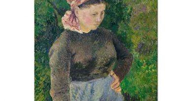 Camille Pissarro Çiftçi Kadın