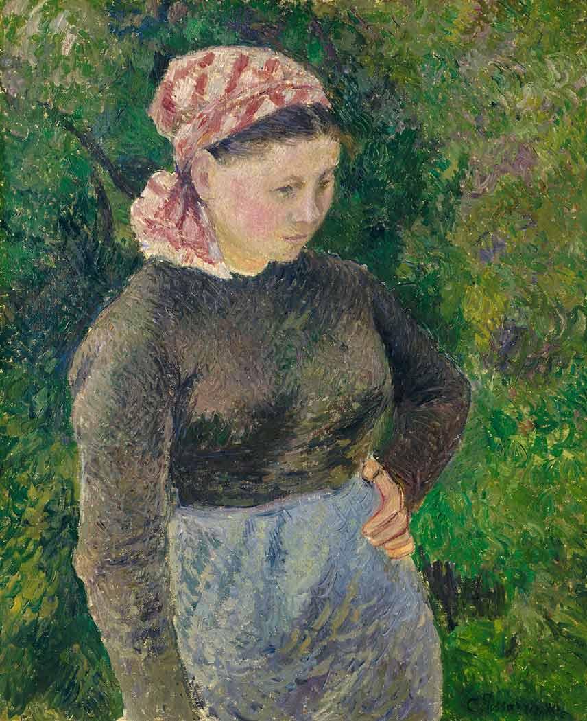 Camille Pissarro Çiftçi