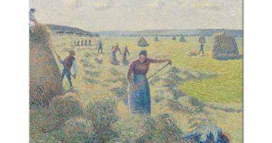 Camille Pissarro Eragny'de Ekinler