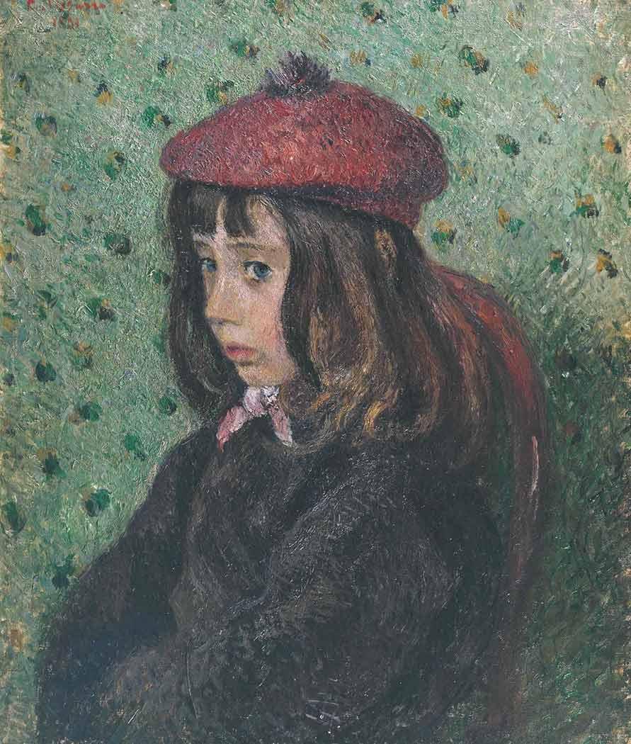 Camille Pissarro Genç Kız Portresi