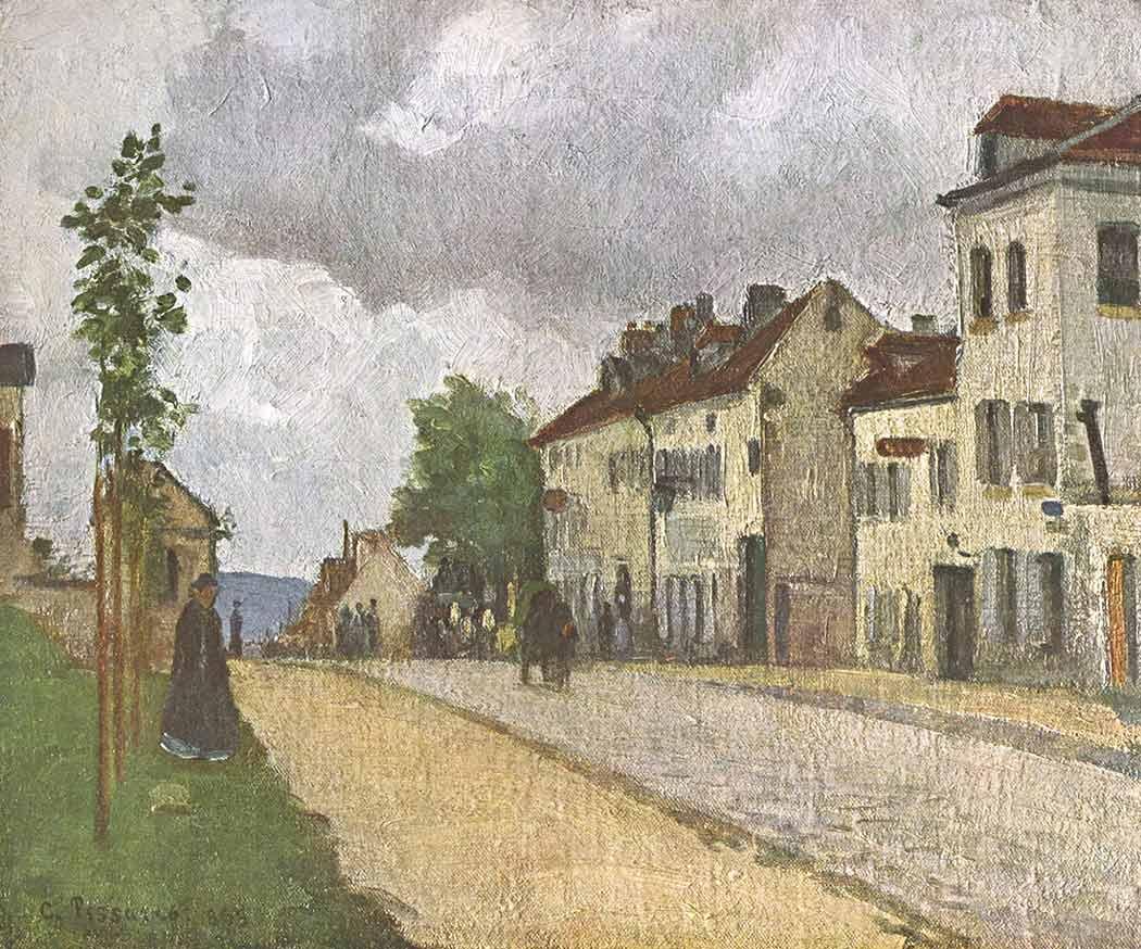 Camille Pissarro Hava Yağmurlu