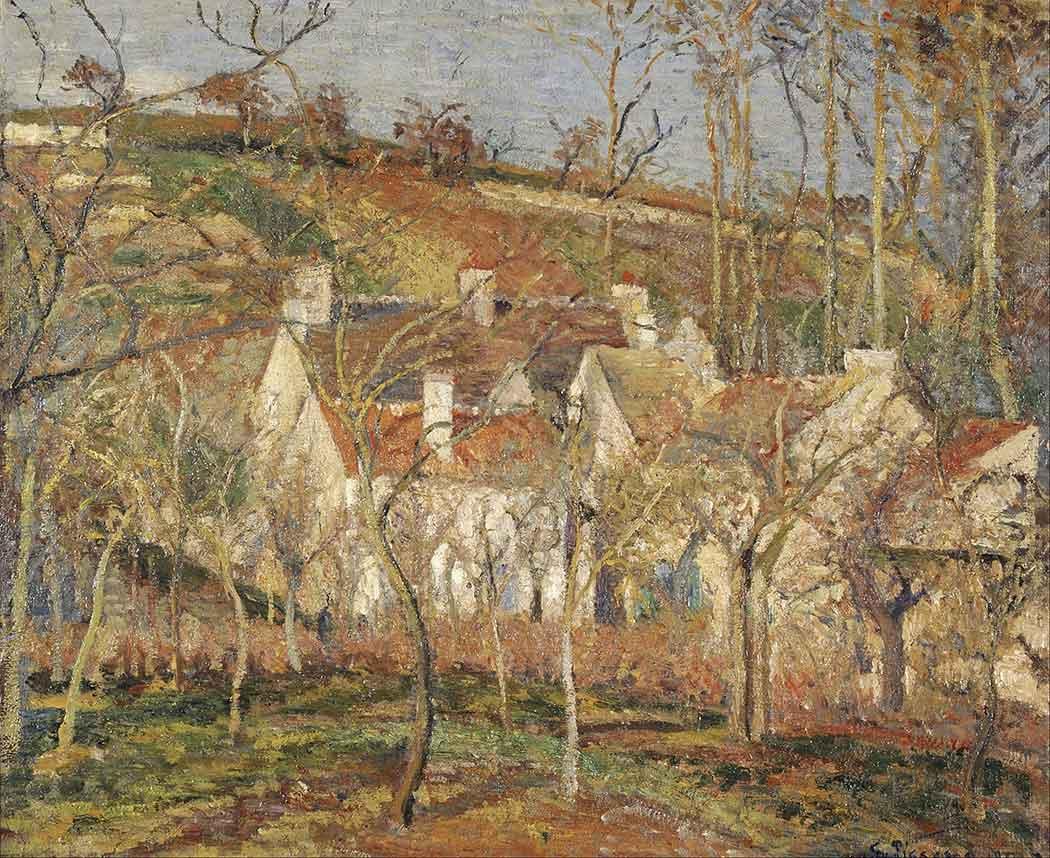 Camille Pissarro Köy Evleri