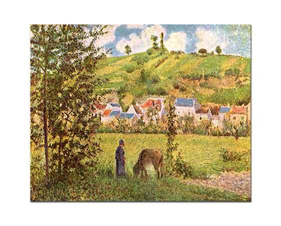 Camille Pissarro Köy Yerinde