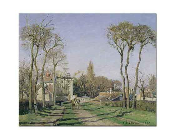 Camille Pissarro Köyün Girişinden