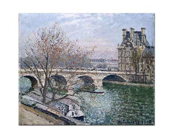 Camille Pissarro Kraliyet Köprüsü Paris