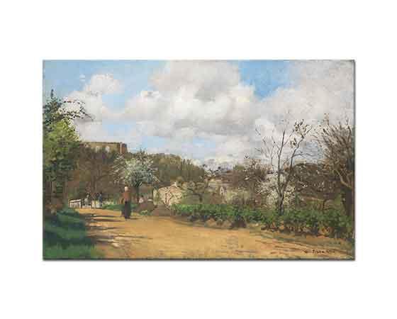 Camille Pissarro Louveciennes'e Bakış