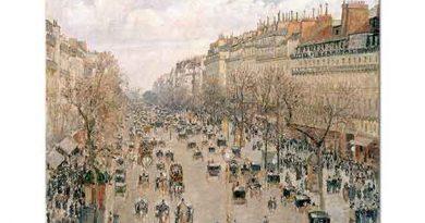 Camille Pissarro Montmartre Bulvarı Manzarası