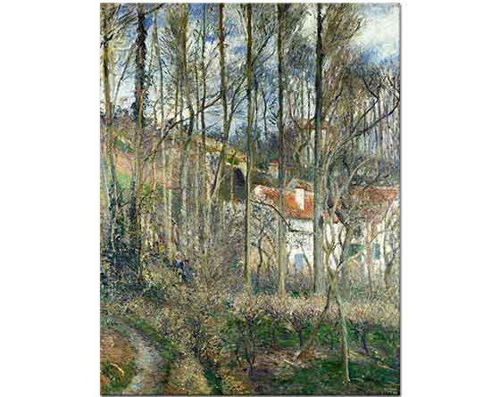 Camille Pissarro Ormanda Evler