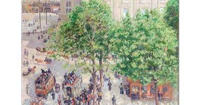 Camille Pissarro Paris'te Opera Meydanı