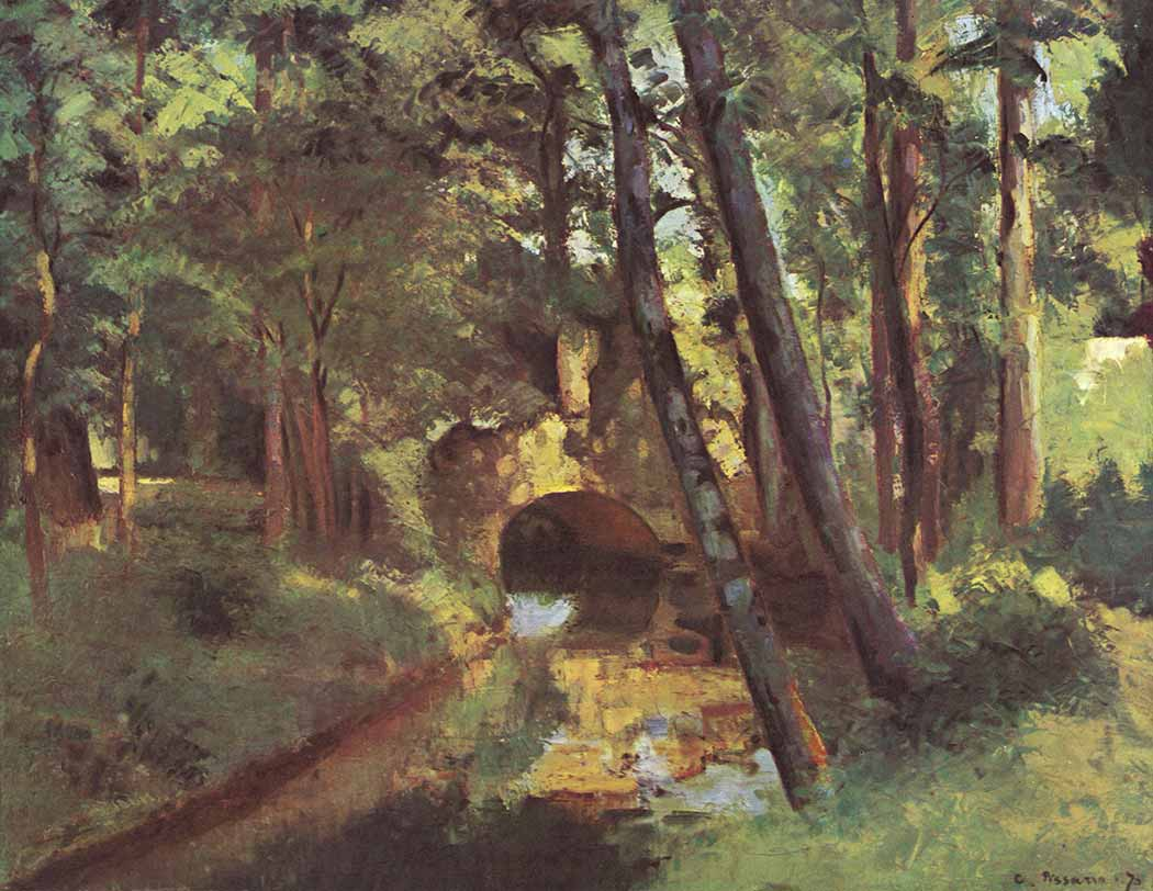 Camille Pissarro Pontoise'de Küçük Köprü