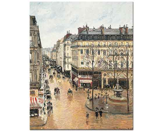 Camille Pissarro Saint Honore Bulvarı