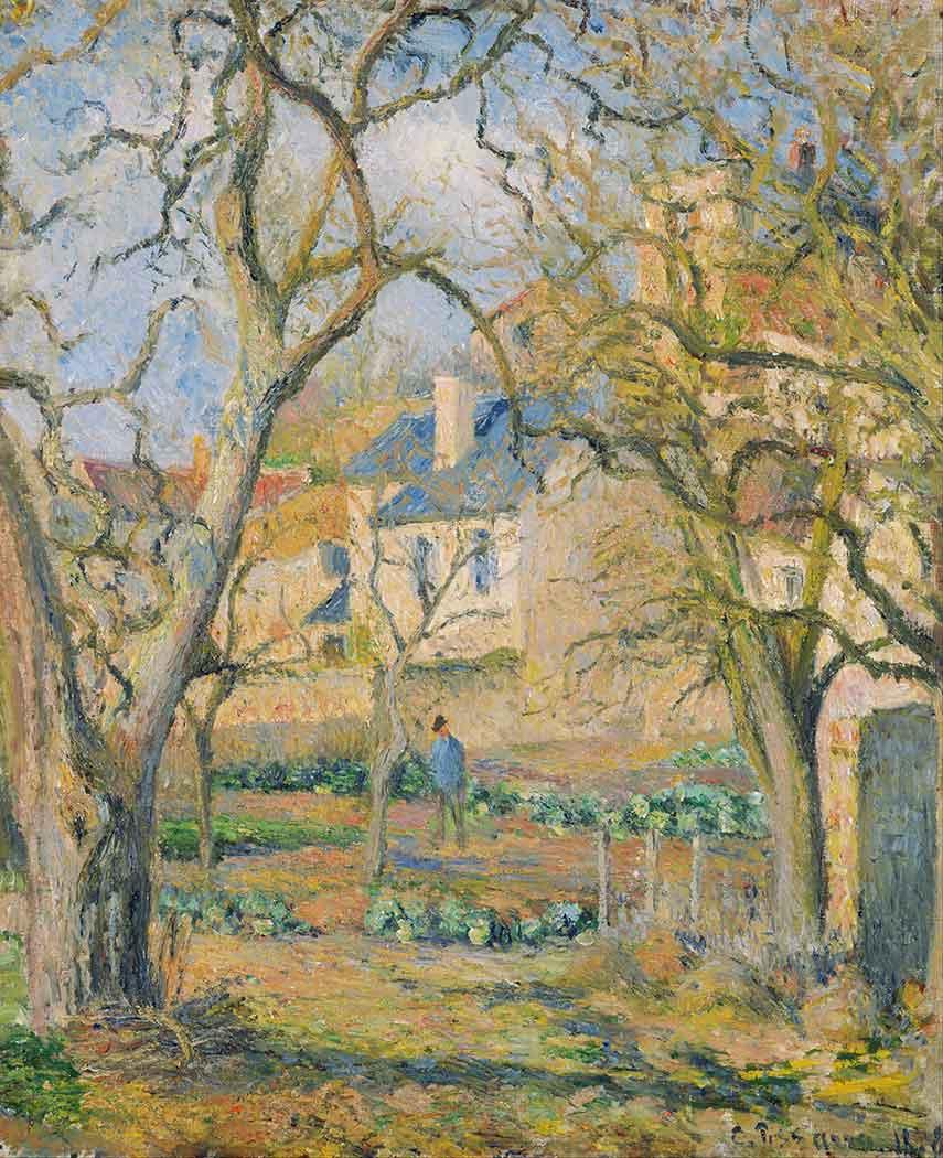 Camille Pissarro Sebze Bahçesi