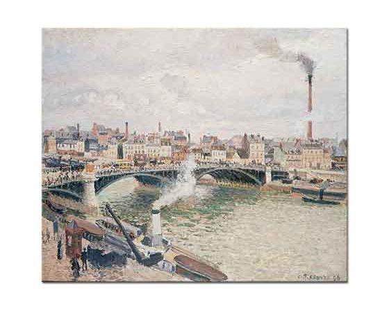 Camille Pissarro Sen Nehrinde Köprü