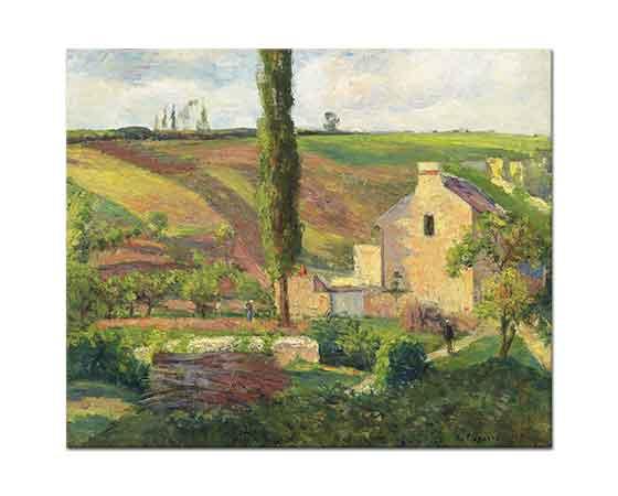 Camille Pissarro Tarlalara Bakış