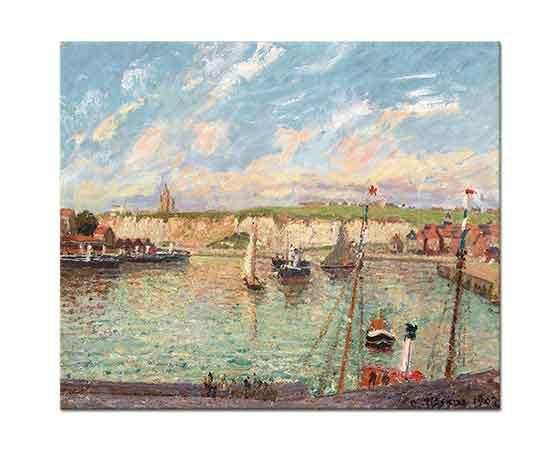 Camille Pissarro Tekne ve Yelkenliler