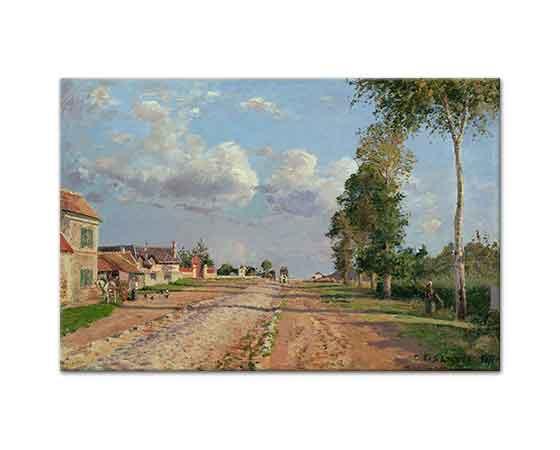 Camille Pissarro Versailles Yolu Rocquencourt