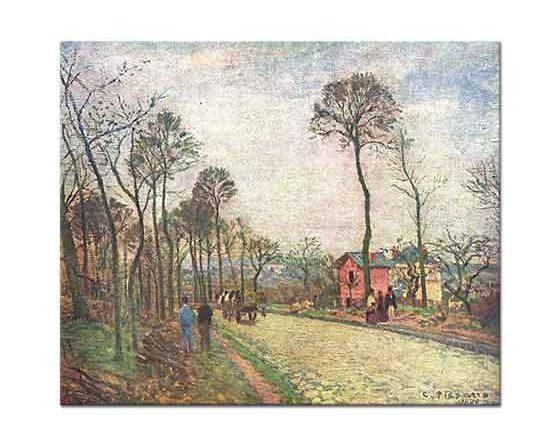Camille Pissarro Yolda Yürüyenler