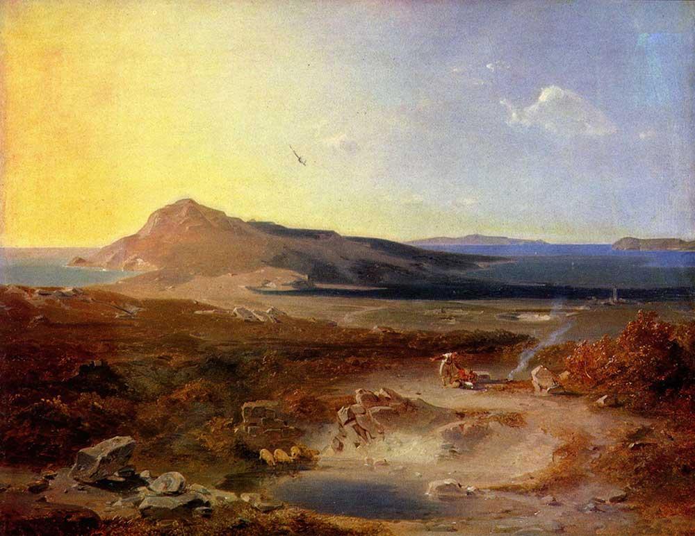 Carl Anton Joseph Rottmann Deniz Manzarası