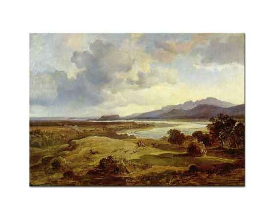 Carl Anton Joseph Rottmann Sahilde Avcılar
