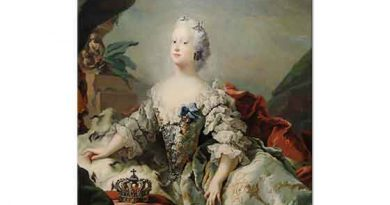 Carl Gustaf Pilo Kadın Portresi