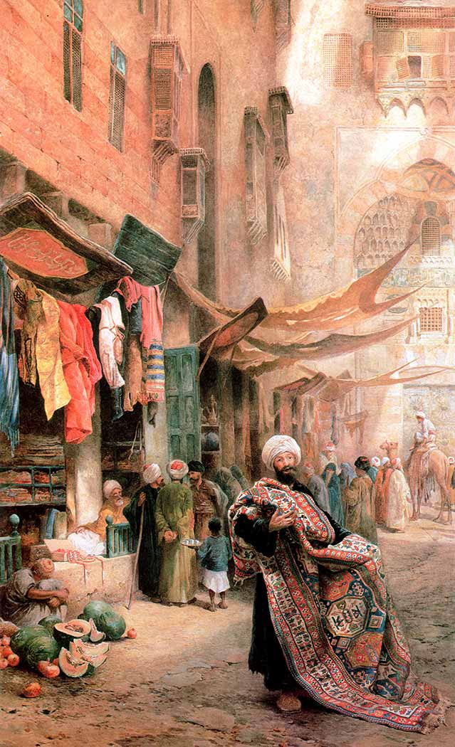 Charles Robertson El Kalele Han Pazarı Kahire