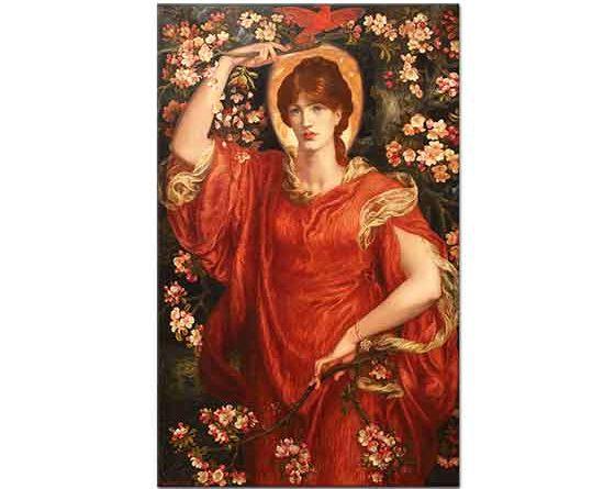 Dante Gabriel Rossetti Fiammetta'nın Vizyonu