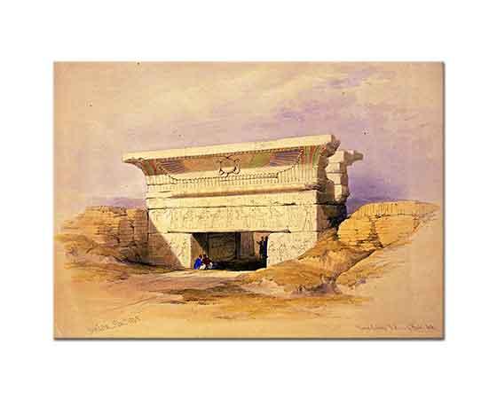 David Roberts Mısır Harabeleri