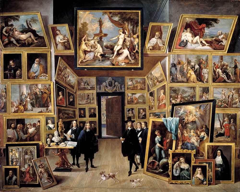 David Teniers Leopold Wilhelm Galerisi Brüksel