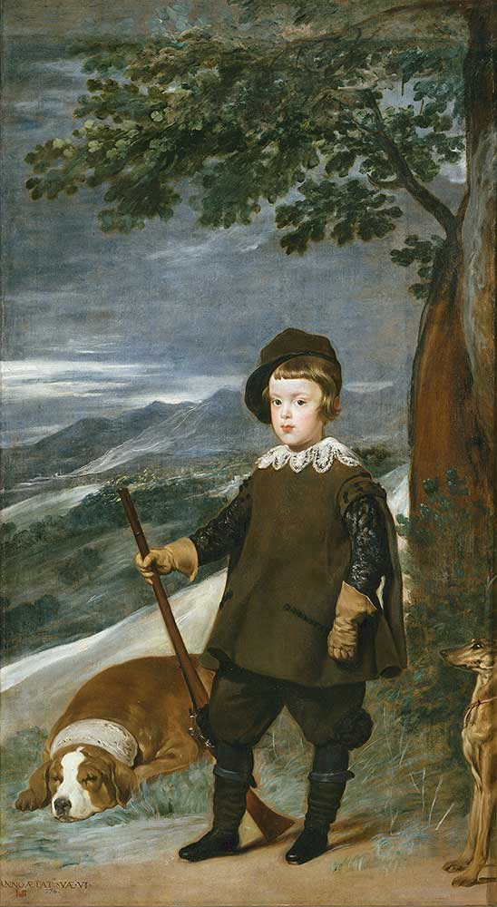 Diego Velazquez Prens Balthasar Carlos