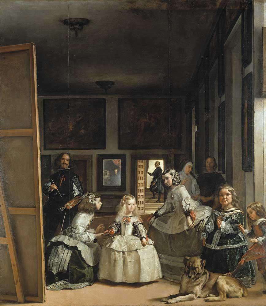 Diego Velazquez Sanatçının Kızları
