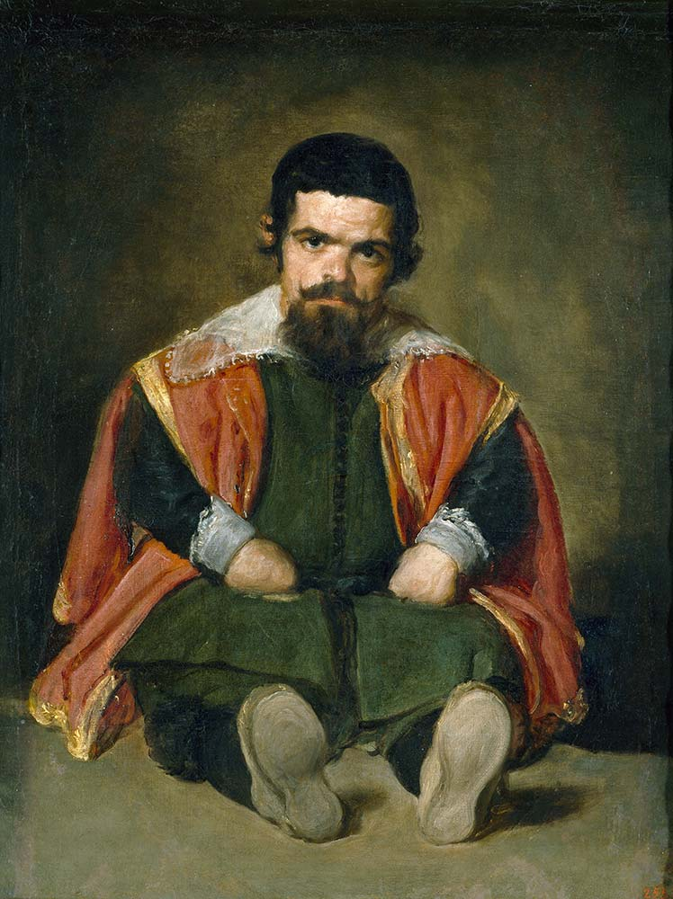 Diego Velazquez Soytarı Don Sebastian de Morra