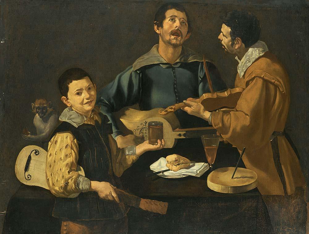 Diego Velazquez Üç Müzisyen