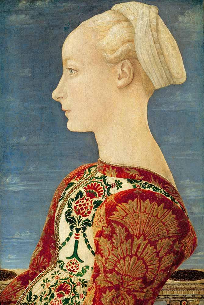 Domenico Veneziano Genç Kadın Portresi