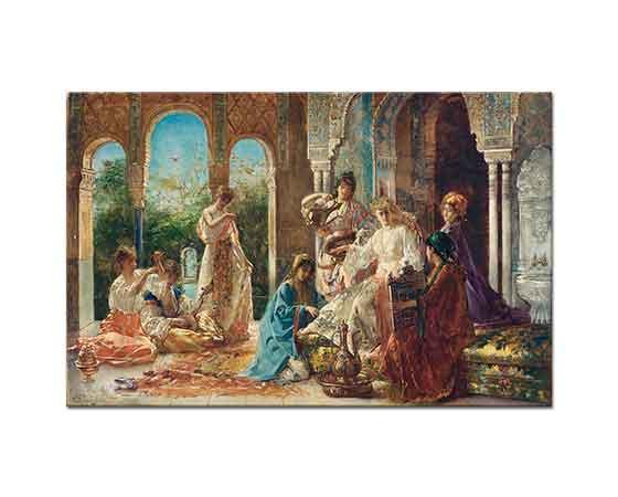 Edouard Frederic Wilhelm Richter Gözdeye Hizmet