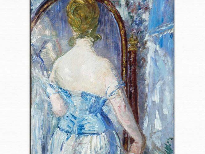 Edouard Manet Ayna Karşısında