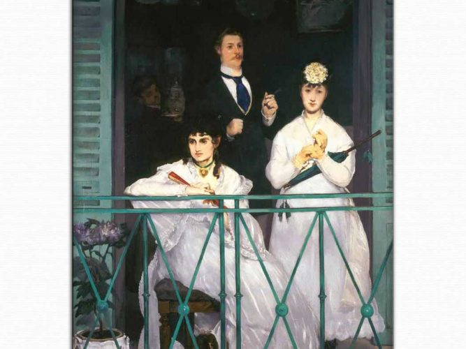 Edouard Manet Balkon