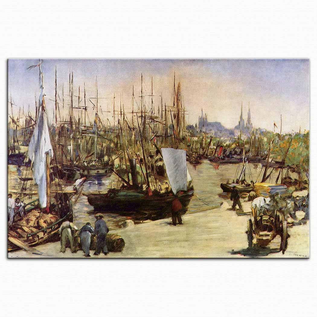 Edouard Manet Bordeaux Limanı