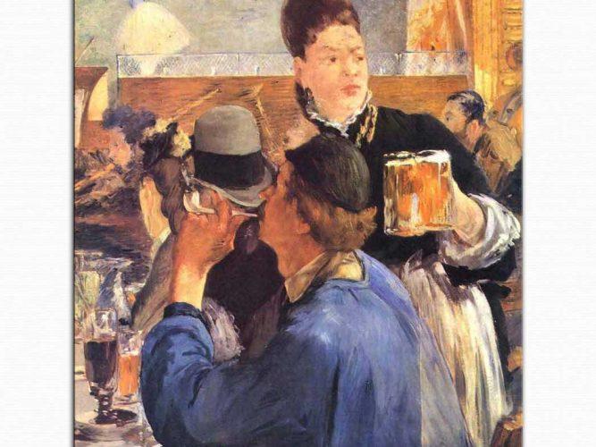 Edouard Manet Cafe Köşesi