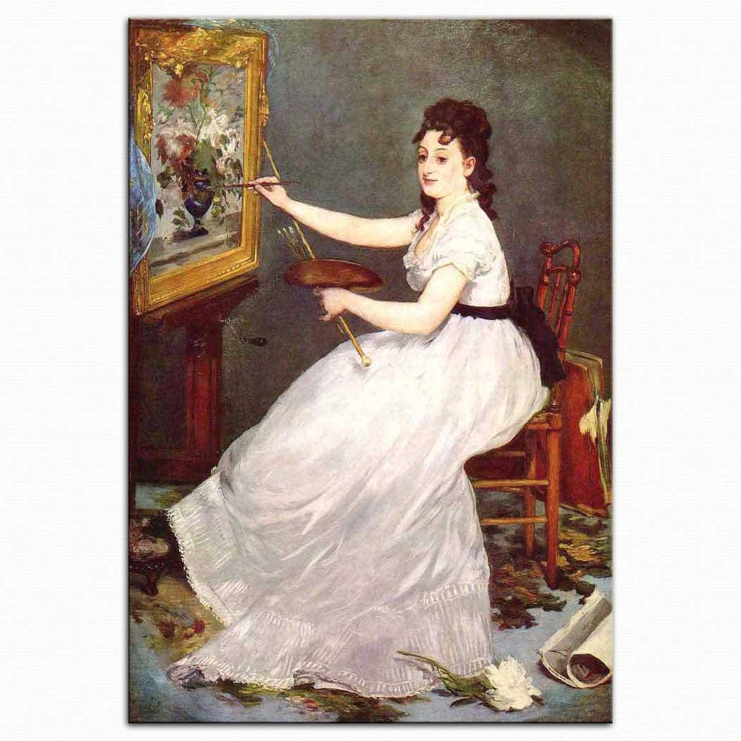 Edouard Manet Eva Gonzales'in Portresi