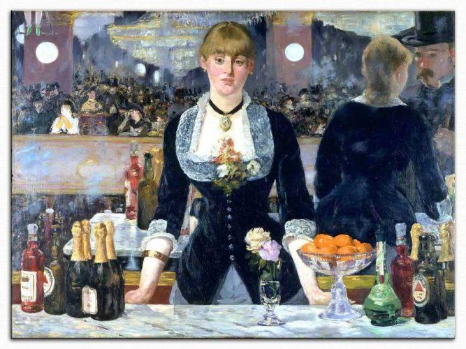 Edouard Manet Folies Bergere'de Bar