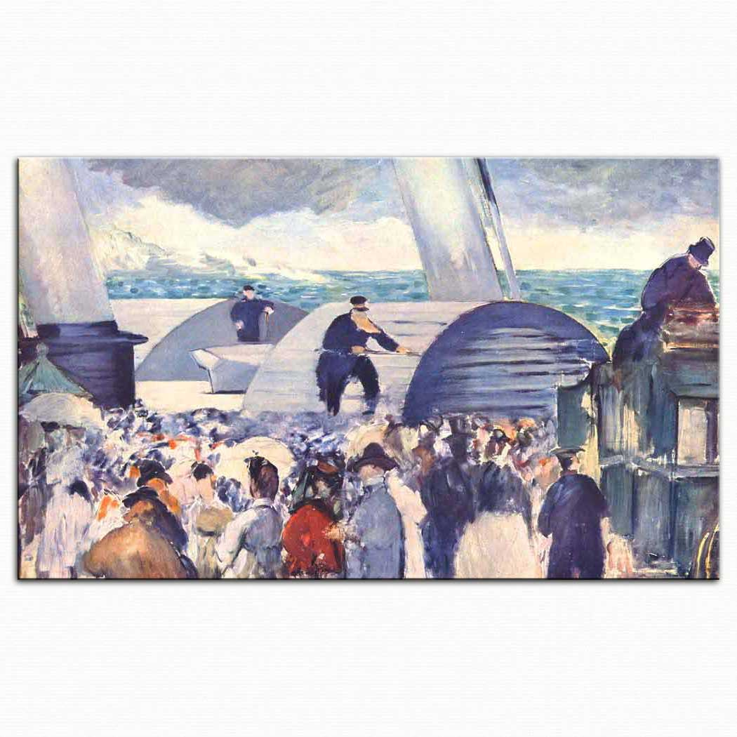 Edouard Manet Folkestone'a Yanaşma